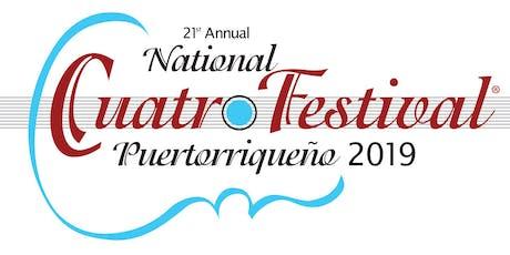 National Cuatro Festival Kick Off Reception tickets