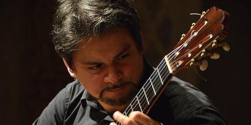 Italian virtuoso guitarist, Luigi Attademo