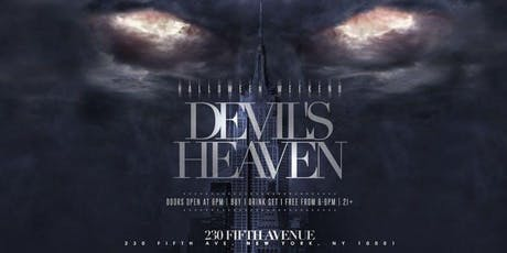 Devil's Heaven Halloween Party @ 230 Fifth - Thursday 10/31 tickets
