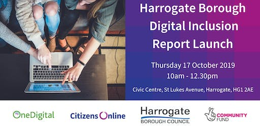 Harrogate District Digital Inclusion Report Launch