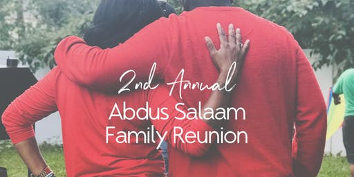 2nd Annual Abdus-Salaam Family Reunion