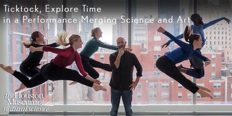 Ticktock, Explore Time in a Performance Merging Science and Art tickets