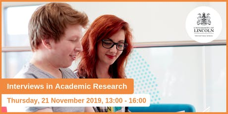 Interviews in Academic Research  tickets