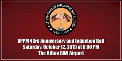 APPM 43rd Anniversary and Induction Ball
