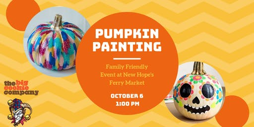 Pumpkin Painting at New Hope Ferry Market