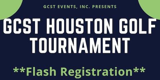 GCST Houston Golf Tournament - Flash Registration
