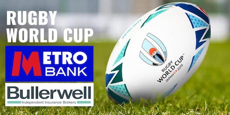 Metro Bank - England v USA Rugby World Cup, Networking Event tickets