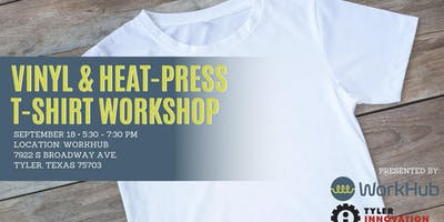 T-Shirt Workshop at WorkHub