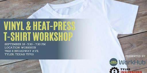 T-Shirt Workshop at WorkHub