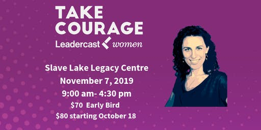 Leadercast Women 2019 Slave Lake