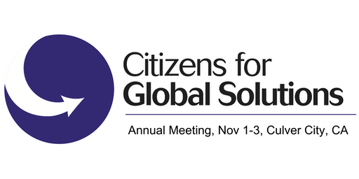 Citizens for Global Solutions Annual Meeting
