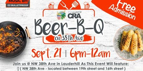 City of Lauderhill and Lauderhill CRA - BEER-B-Q tickets