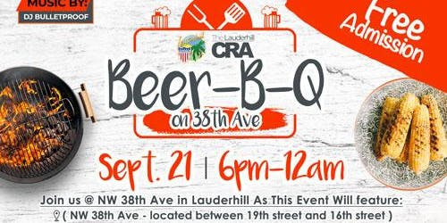 City of Lauderhill and Lauderhill CRA - BEER-B-Q