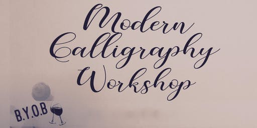 Intermediate Calligraphy Workshop - BYOB