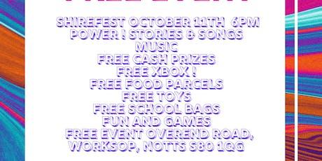 Worksop SHIREFest tickets