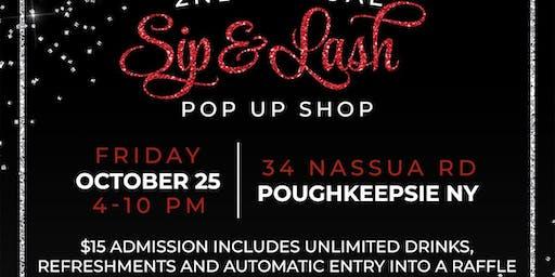 2nd Annual Sip&Lash Pop Up Shop