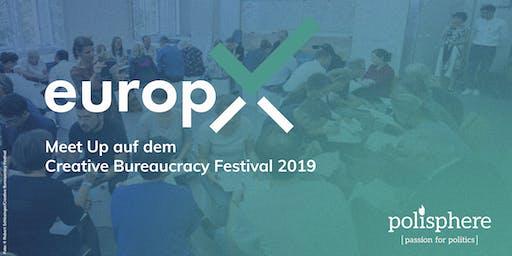 europX meets CBF – Meet Up: Demokratie mit digitalen Technologien stärken