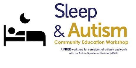 Community Education Workshop: Sleep and ASD tickets