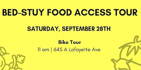 Bed-Stuy Food Access Bike Tour tickets