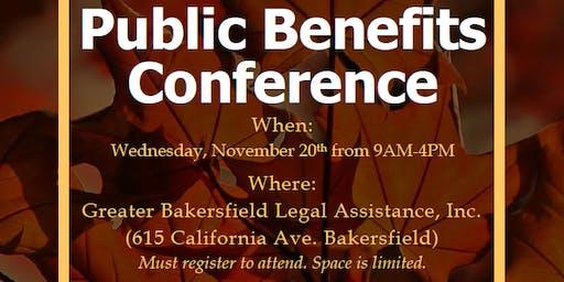 Public Benefits Conference