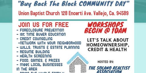 BUY BACK THE BLOCK COMMUNITY DAY EXPO