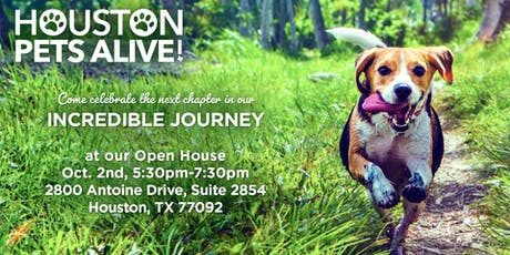 Open House at Houston Pets Alive! tickets