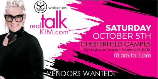 Vendors Wanted for Real Talk Kim Event