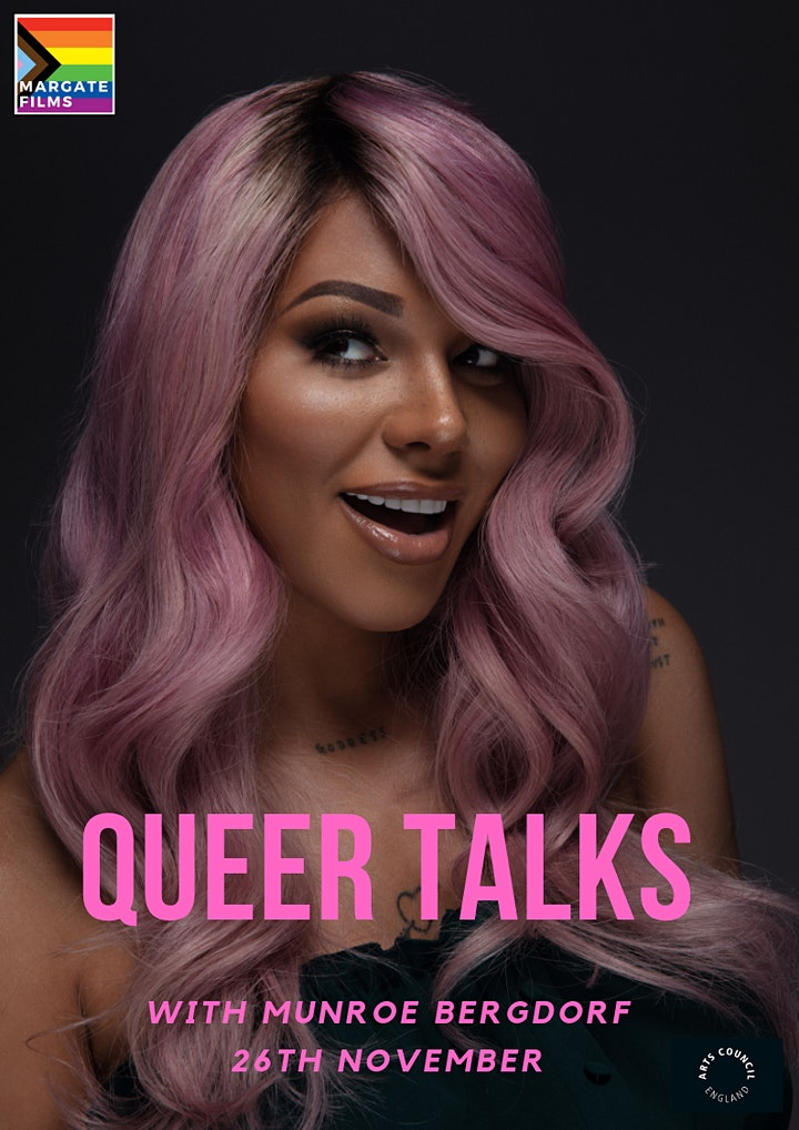 Margate Films presents: Queer Talks with Munroe Bergdorf image