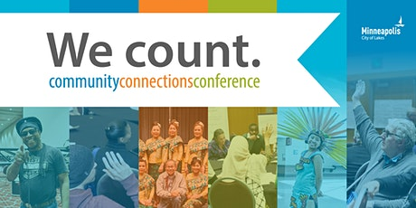 We count, 2020 Community Connections Conference tickets