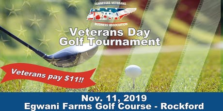TVBA Veterans Day Golf Tournament tickets