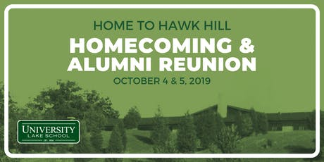 Home to Hawk Hill: Alumni Reunion & Homecoming tickets
