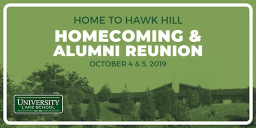 Home to Hawk Hill: Alumni Reunion & Homecoming