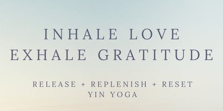 Create Happy Thoughts Yin Yoga tickets