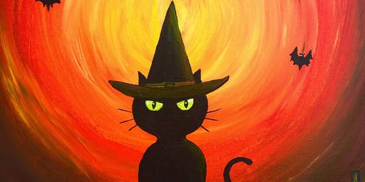 Kids Halloween Paint Night