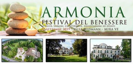 """Bagno di Gong ad """"Armonia - Festival del Benessere"""""""