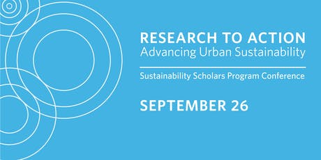 Research to Action: Advancing Urban Sustainability 2019 tickets
