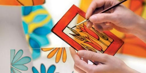 Biblio jeunesse: Peinture imitation vitrail/Painting Like Stained Glass