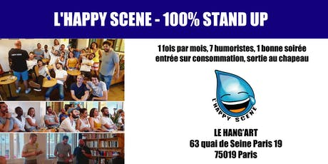 L'Happy Scene - Stand up au hang'Art tickets