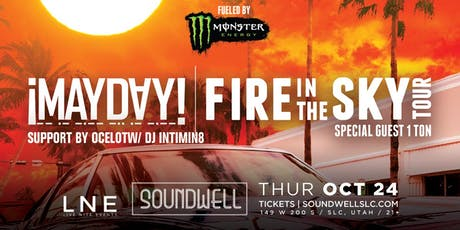 ¡Mayday! Fire In The Sky Tour tickets