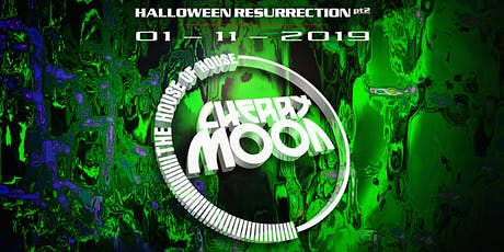 Cherry Moon - Halloween Resurrection - The vinyl all nighter tickets