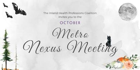 Metro Nexus Meeting tickets