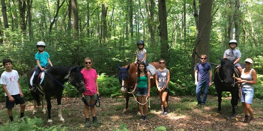 Lasata's DAY CAMP- A Day Filled of Horses and Nature (one day only)