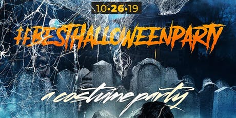 The #BestHalloweenParty (a Costume Party) @ Taj II - FREE Drinks & Prizes tickets