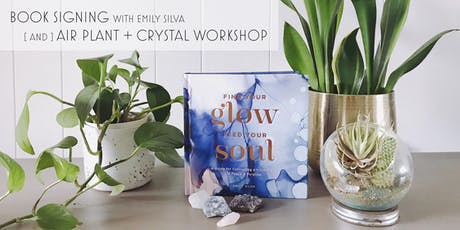 Soul Aligning Event: Book Signing with Airplant + Crystal Ornament Workshop tickets