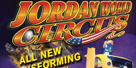 Jordan World Circus 2019 - Troy, OH tickets