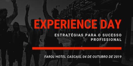 Experience day: Estratégias para o sucesso profissional bilhetes