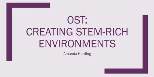 OUT OF SCHOOL TIME: Creating STEM-Rich Environments