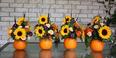 Pumpkin Centerpiece Workshop (Real)
