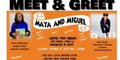 Maya and Miguel Author Meet & Greet