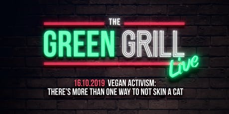 Vegan Activism: There's More Than One Way To NOT Skin A Cat tickets